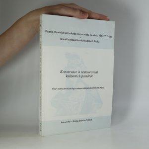 náhled knihy - Konzervace a restaurování kulturních památek