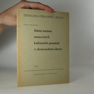 náhled knihy - Státní seznam nemovitých kulturních památek v olomouckém okrese