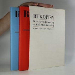 náhled knihy - Rukopisy Královédvorský a Zelenohorský (I.-II. díl)