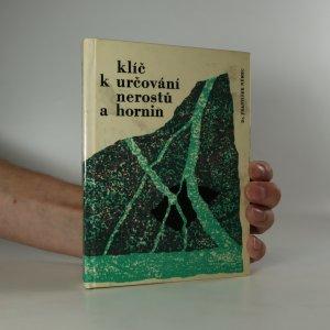 náhled knihy - Klíč k určování nerostů a hornin