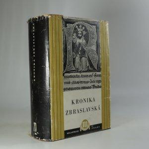 náhled knihy - Kronika Zbraslavská