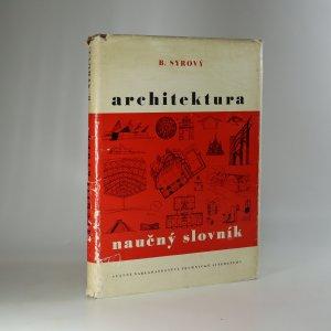 náhled knihy - Architektura - naučný slovník