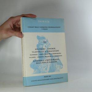 náhled knihy - Polymery- chemie, vlastnosti a zpracování