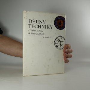 náhled knihy - Dějiny techniky v Československu do konce 18. století