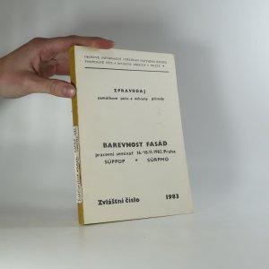 náhled knihy - Barevnost fasád