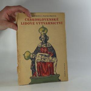 náhled knihy - Československé lidové výtvarnictví