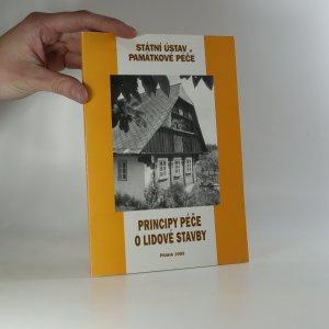 náhled knihy - Principy péče o lidové stavby