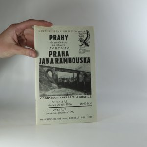 náhled knihy - Praha Jana Rambouska v obrazech, kresbách a grafice