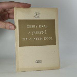 náhled knihy - Český kras a jeskyně na Zlatém koni