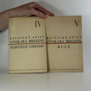 náhled knihy - Básnické spisy, IV., V. Stavitelé chrámu. Ruce. (2 svazky)