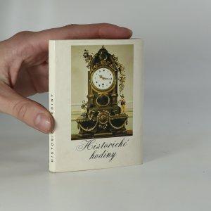 náhled knihy - Historické hodiny