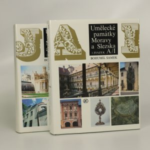 náhled knihy - Umělecké památky Moravy a Slezska. 1.-2. díl. (2 svazky).