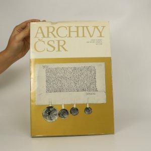 náhled knihy - Archivy ČSR