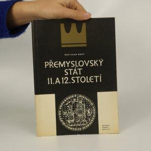 náhled knihy - Přemyslovský stát 11. a 12. století