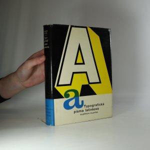 náhled knihy - Typografická písma latinková