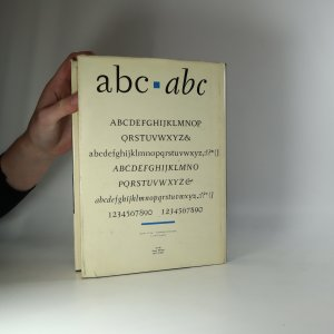 antikvární kniha Typografická písma latinková, 1960