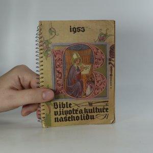 náhled knihy - Bible v životě a kultuře našeho lidu