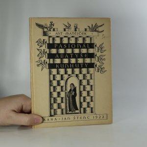 náhled knihy - Pasionál abatyše Kunhuty