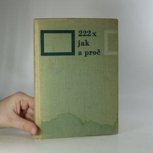 náhled knihy - 222x jak a proč. Otázky a odpovědi z akvaristické praxe