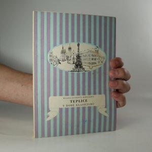 náhled knihy - Teplice v době klasicismu