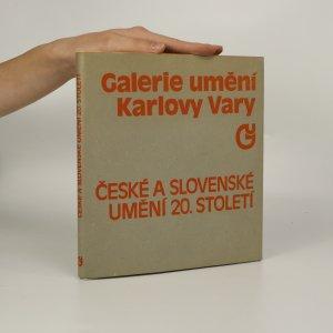 náhled knihy - České a slovenské umění 20. století