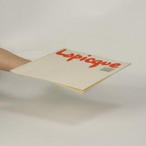 antikvární kniha Lapicque, 1970