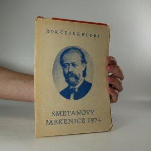 náhled knihy - Smetanovy Jabkenice 1974 (6 divadelních programů v deskách)