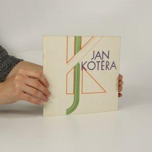 náhled knihy - Jan Kotěra (úvod napsán roku 1971)