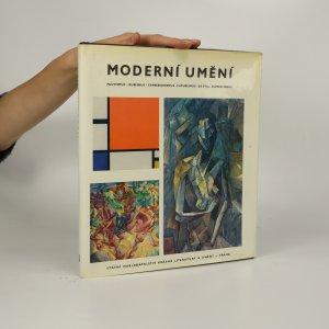 náhled knihy - Moderní umění