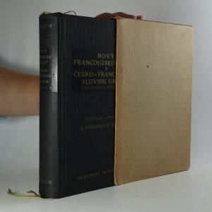 náhled knihy - Nový francouzsko-český a česko-francouzský slovník Unikum s mluvnicí a výslovností