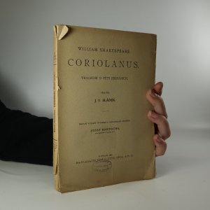 náhled knihy - Coriolanus
