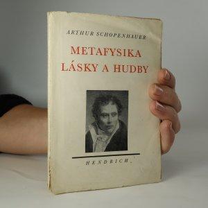 náhled knihy - Metafysika lásky a hudby