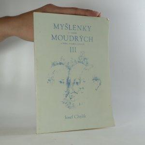 náhled knihy - Myšlenky a výroky moudrých o kráse, rozumu a pravdě III.