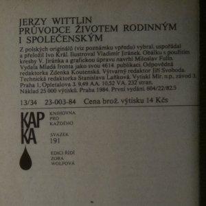 antikvární kniha Průvodce životem rodinným i společenským, 1984