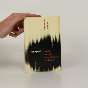 náhled knihy - Opojení aneb vstříc podzimním ptákům