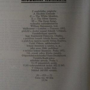 antikvární kniha Moderní komedie, 1972
