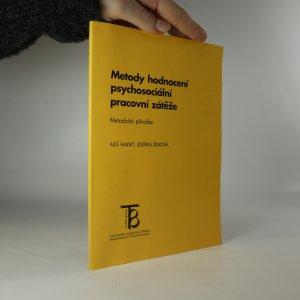 náhled knihy - Metody hodnocení psychosociální pracovní zátěže