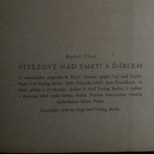antikvární kniha Vítězové nad smrtí a ďáblem, 1944