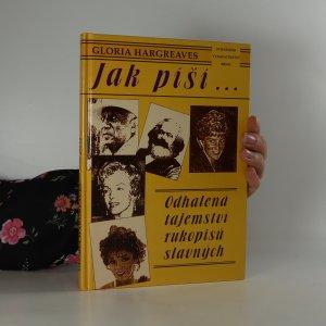 náhled knihy - Jak píší