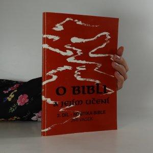 náhled knihy - O bibli a jejím učení - Mystika Bible (2. díl)