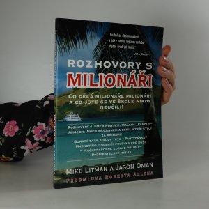 náhled knihy - Rozhovory s milionáři