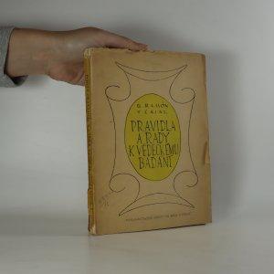 náhled knihy - Pravidla a rady k vědeckému bádání