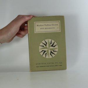 náhled knihy - Dvě rozmluvy