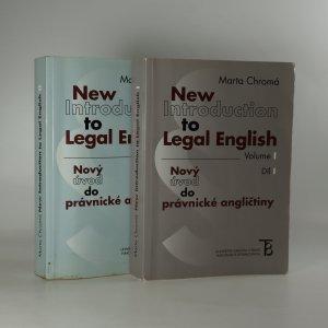 náhled knihy - New Introduction to Legal English I. and II. Nový úvod do právnické angličtiny. I. a II. díl.