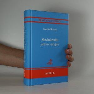 náhled knihy - Mezinárodní právo veřejné
