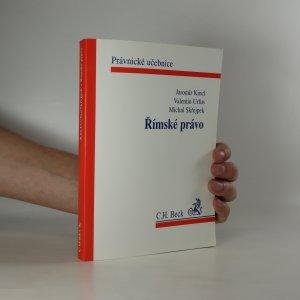 náhled knihy - Římské právo