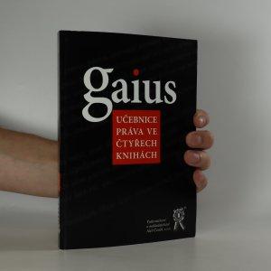 náhled knihy - Učebnice práva ve čtyřech knihách