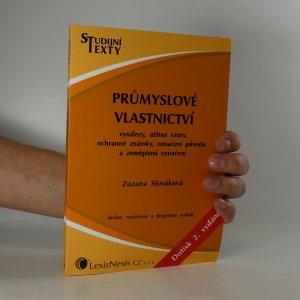 náhled knihy - Průmyslové vlastnictví
