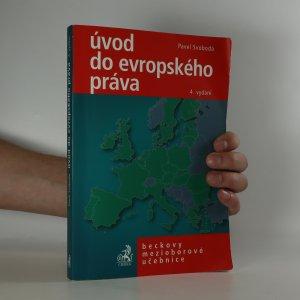 náhled knihy - Úvod do evropského práva