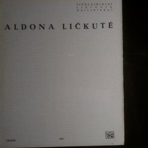 antikvární kniha Aldona Ličkutė, 1971